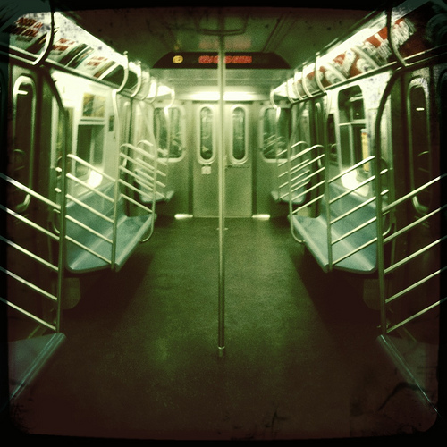 empty Subway New york