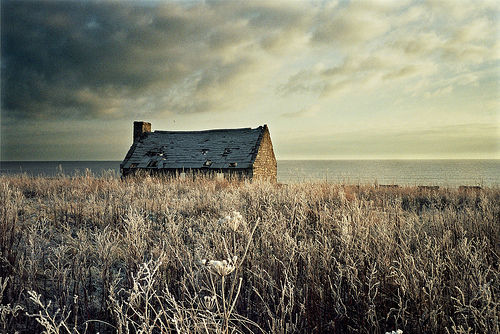 Scotland abandoned cottage caithness